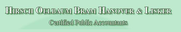 Hirsch Oelbaum Bram Hanover & Lisker, CPAs